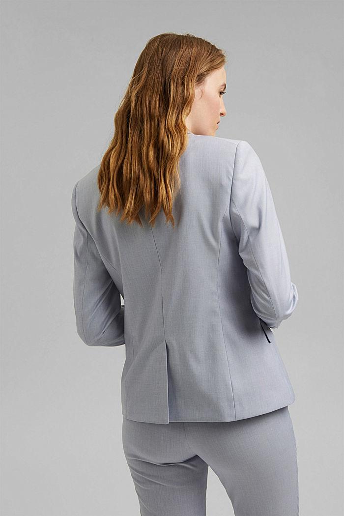 SMART SPRING Mix + Match stretch blazer, LIGHT BLUE, detail image number 3