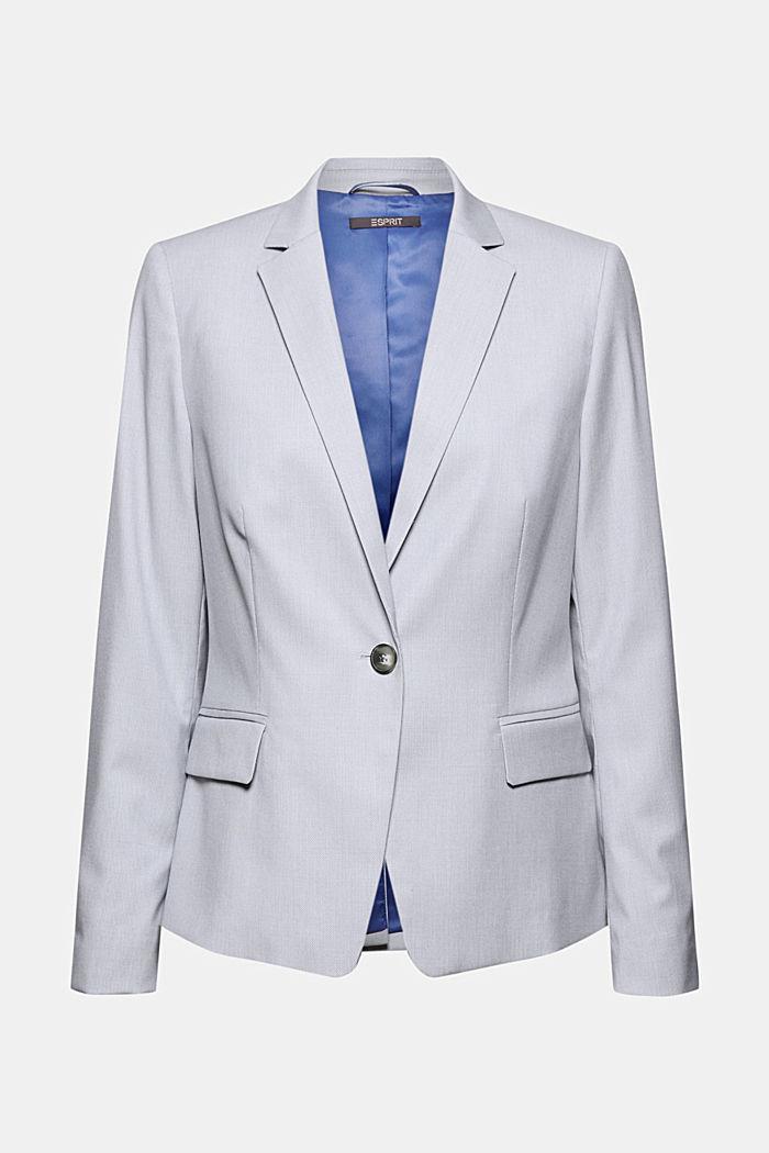 SMART SPRING Mix + Match stretch blazer, LIGHT BLUE, detail image number 6