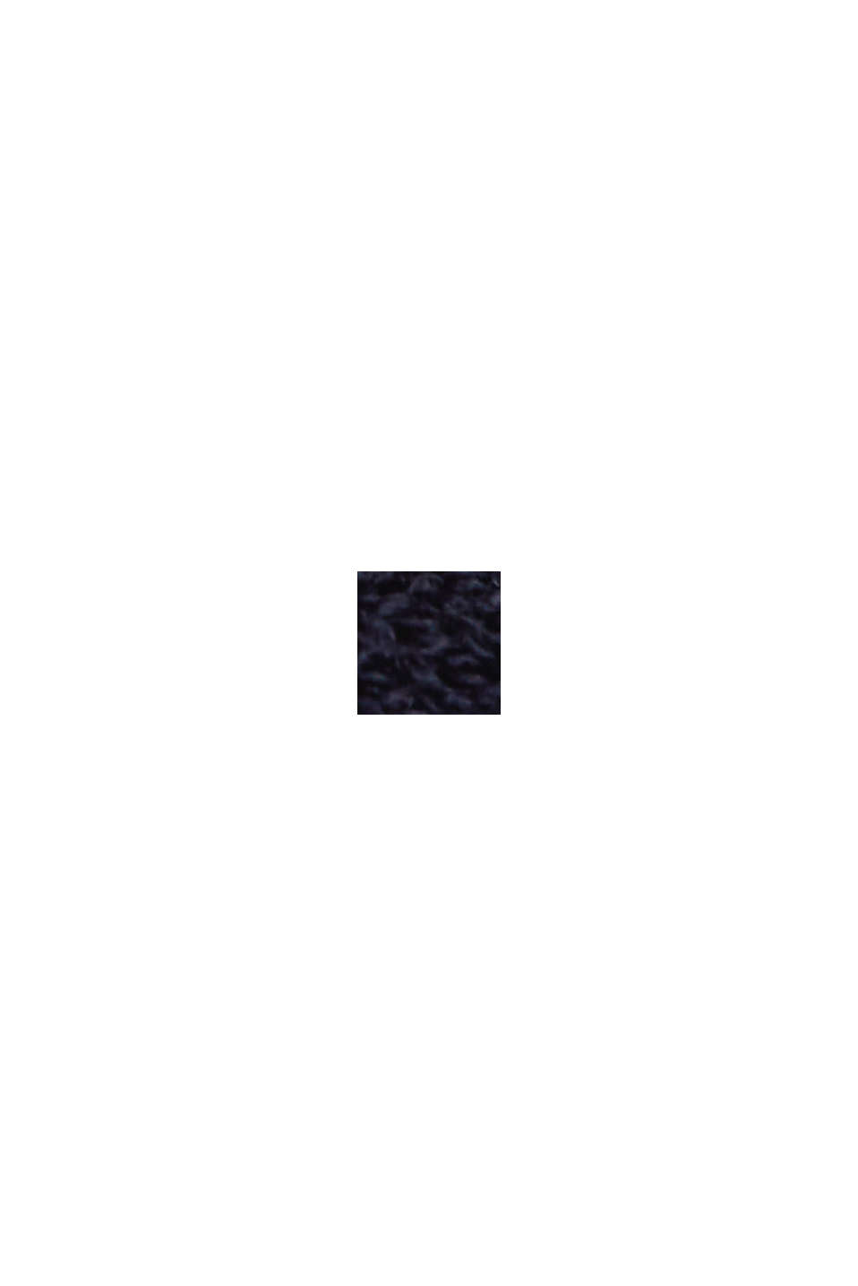 Kurzarm-Pullover mit Punkte-Struktur, NAVY, swatch