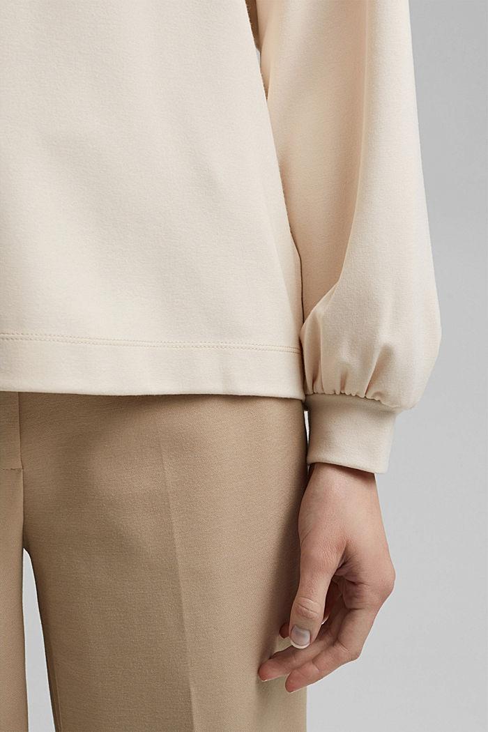 Sweatshirt with LENZING™ ECOVERO™, ICE, detail image number 2