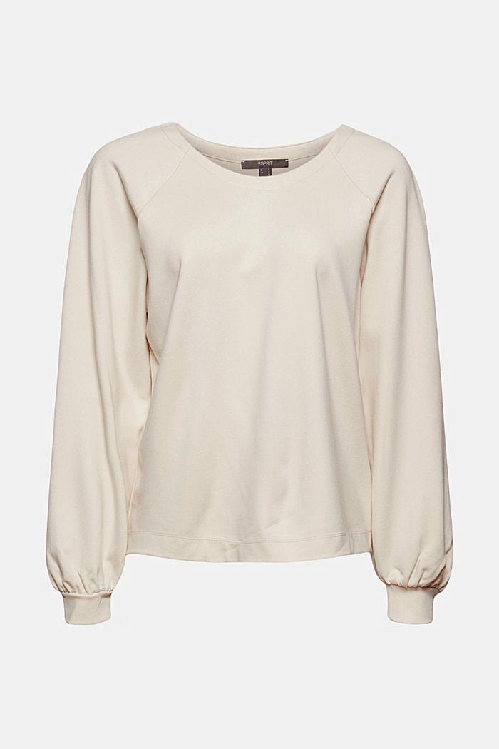Sweatshirt with LENZING™ ECOVERO™, ICE, detail image number 5