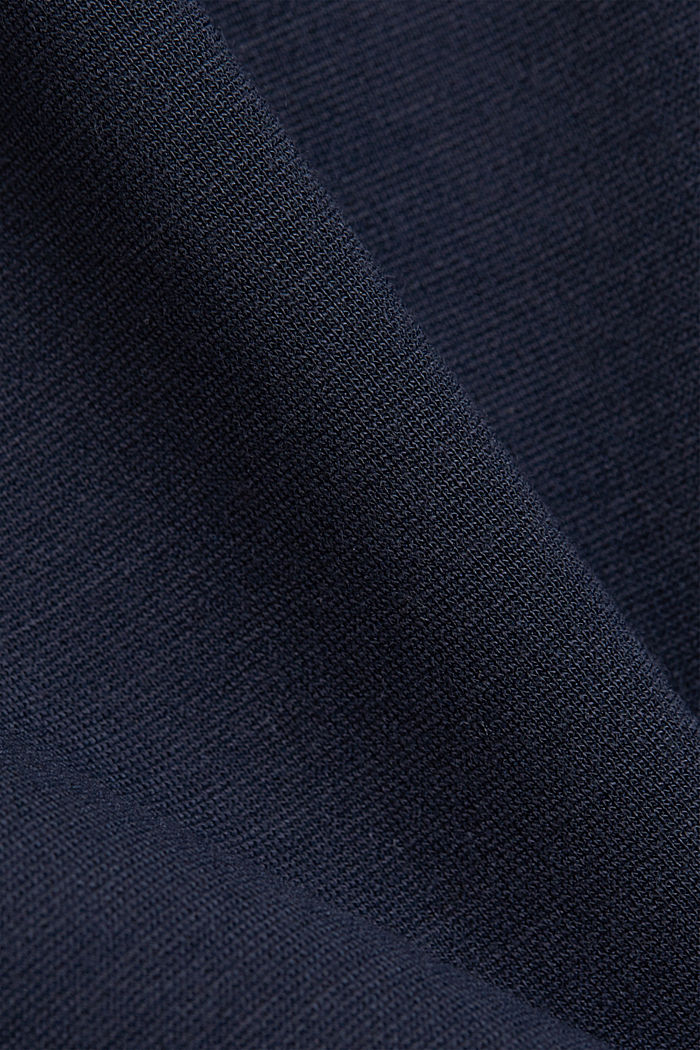 Sweatshirt with LENZING™ ECOVERO™, NAVY, detail image number 4