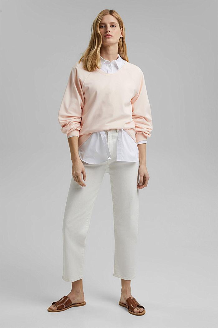 Sweat-shirt à teneur en LENZING™ ECOVERO™
