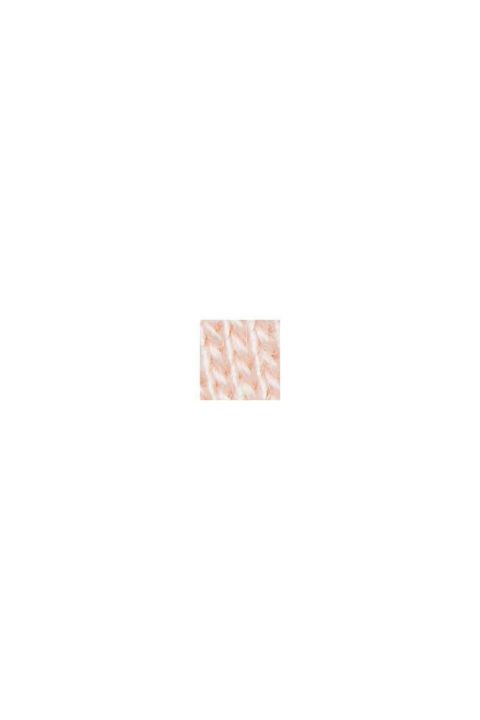 Hoogwaardige hoodie van compacte sweatstof, LIGHT PINK, swatch