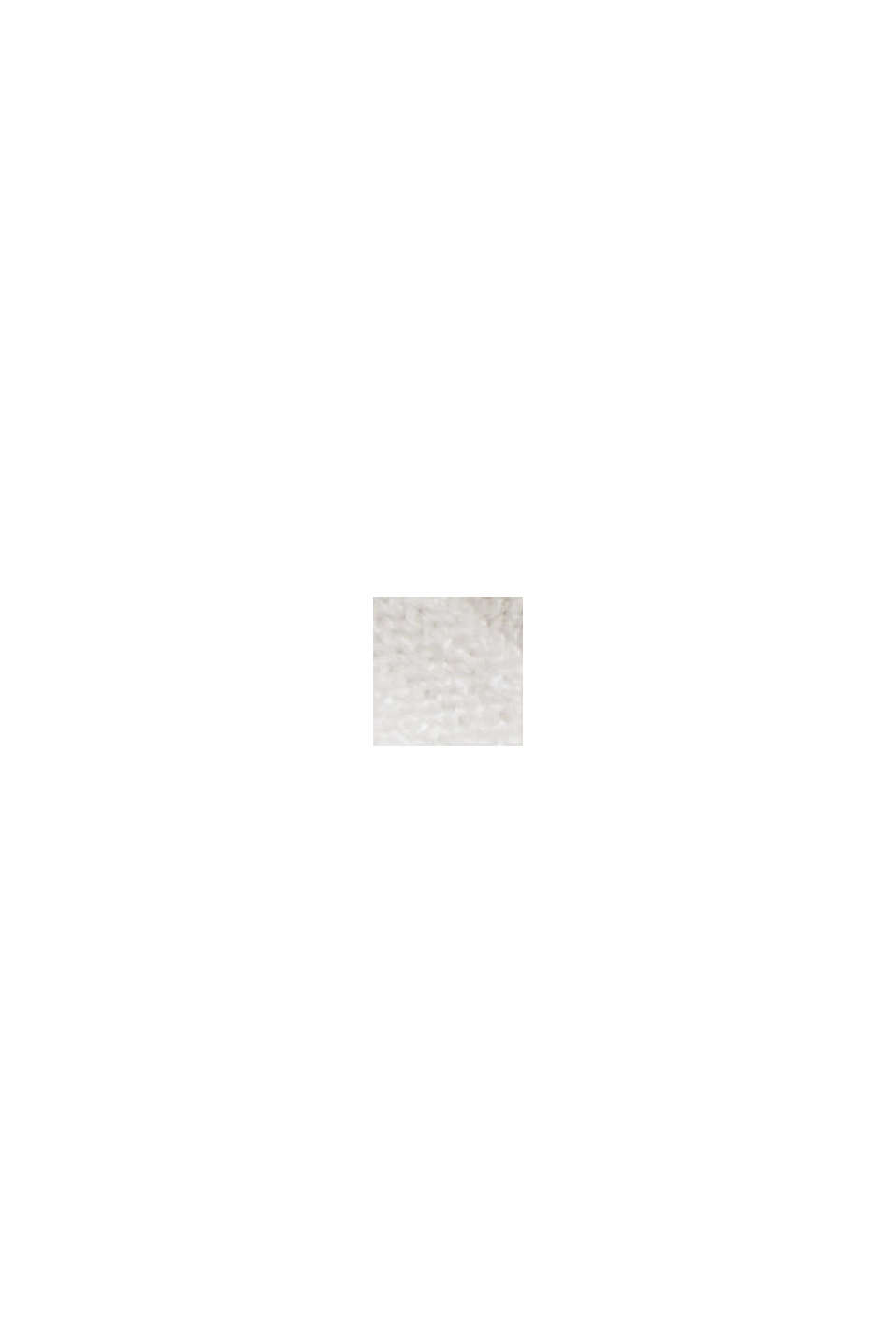 Ripp-Shirt aus LENZING™ ECOVERO™-Viskose, OFF WHITE, swatch