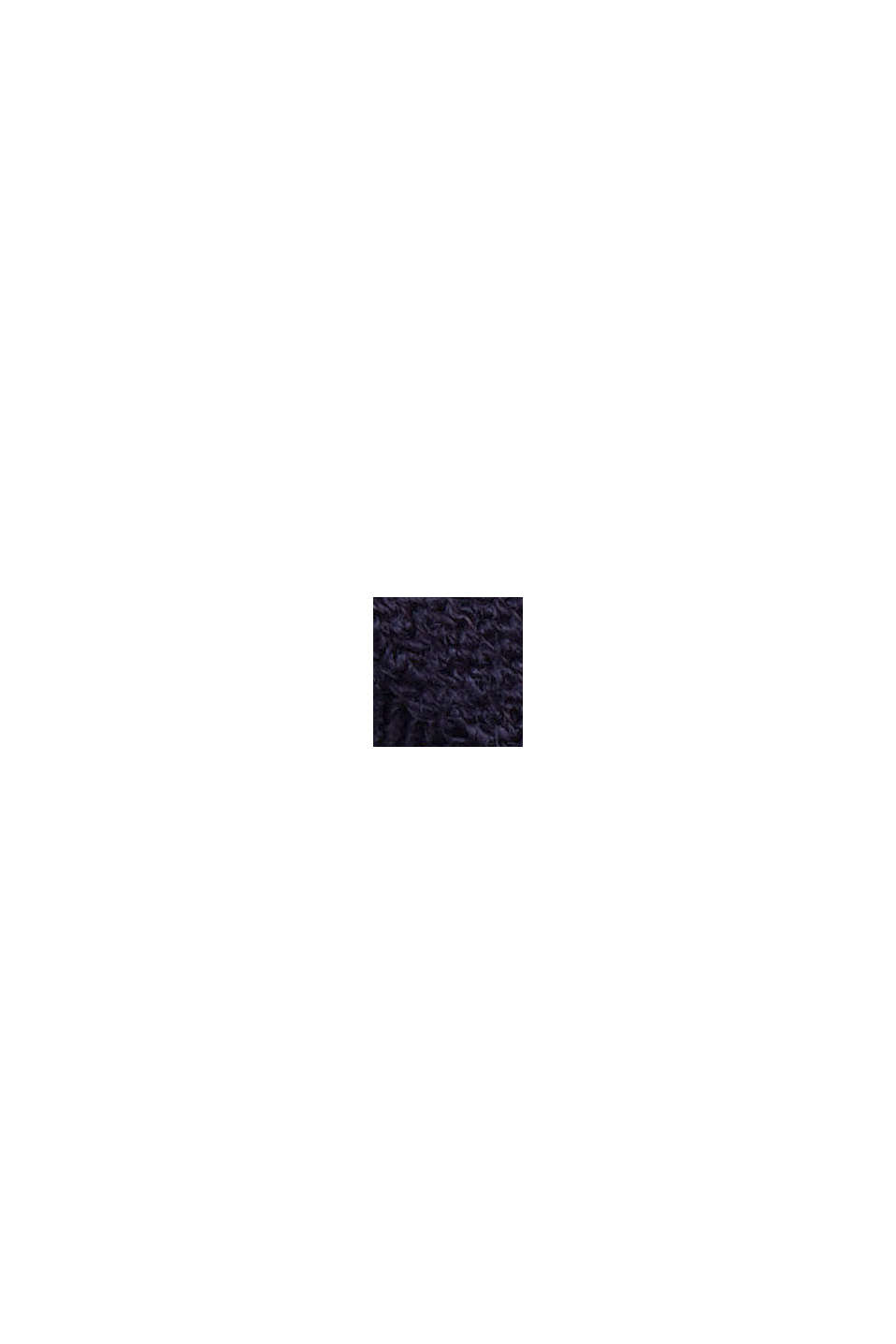 Ripp-Shirt aus LENZING™ ECOVERO™-Viskose, NAVY, swatch