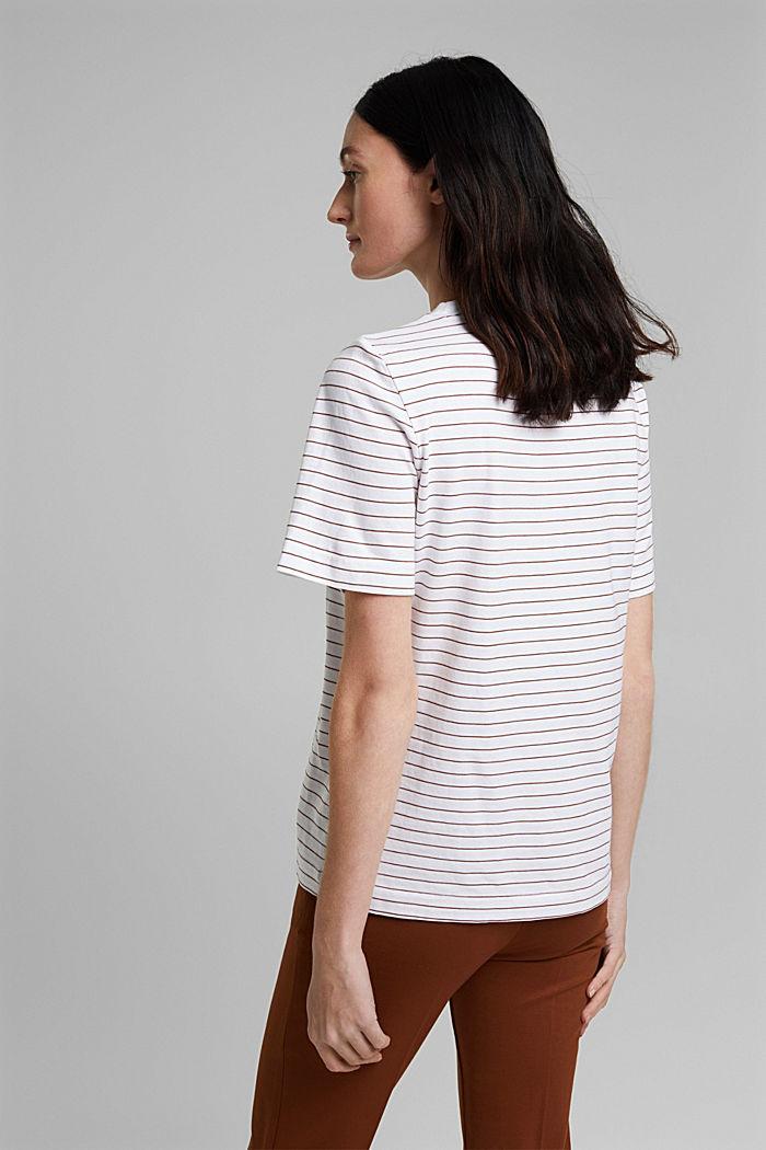 Jersey T-shirt van 100% organic cotton, WHITE, detail image number 3