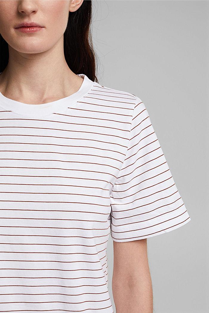 Jersey T-shirt van 100% organic cotton, WHITE, detail image number 2