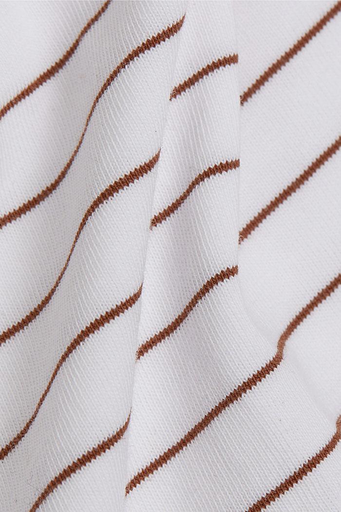 Jersey T-shirt van 100% organic cotton, WHITE, detail image number 4