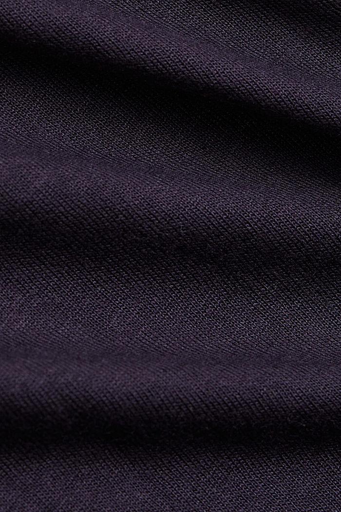 Art-Print T-Shirt aus LENZING™ ECOVERO™, NAVY, detail image number 4
