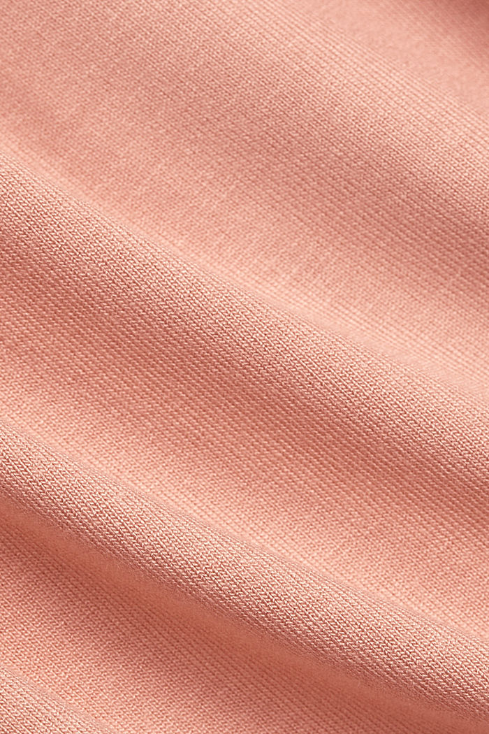 Jersey top with LENZING™ ECOVERO™, SALMON, detail image number 4