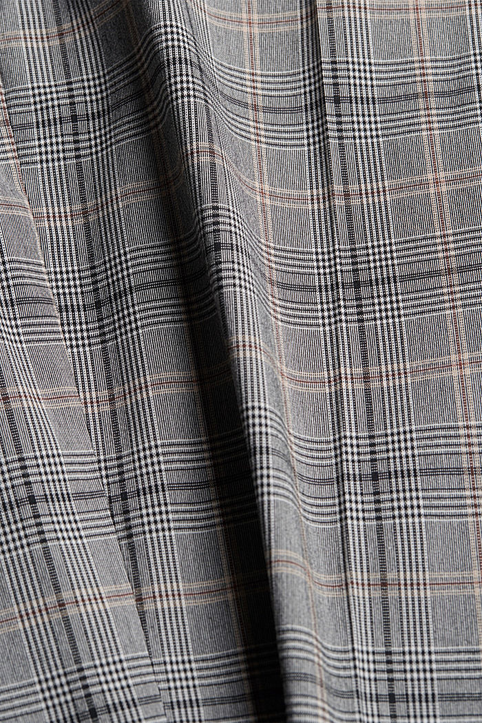 Check mix + match trousers with COOLMAX®, GREY, detail image number 5