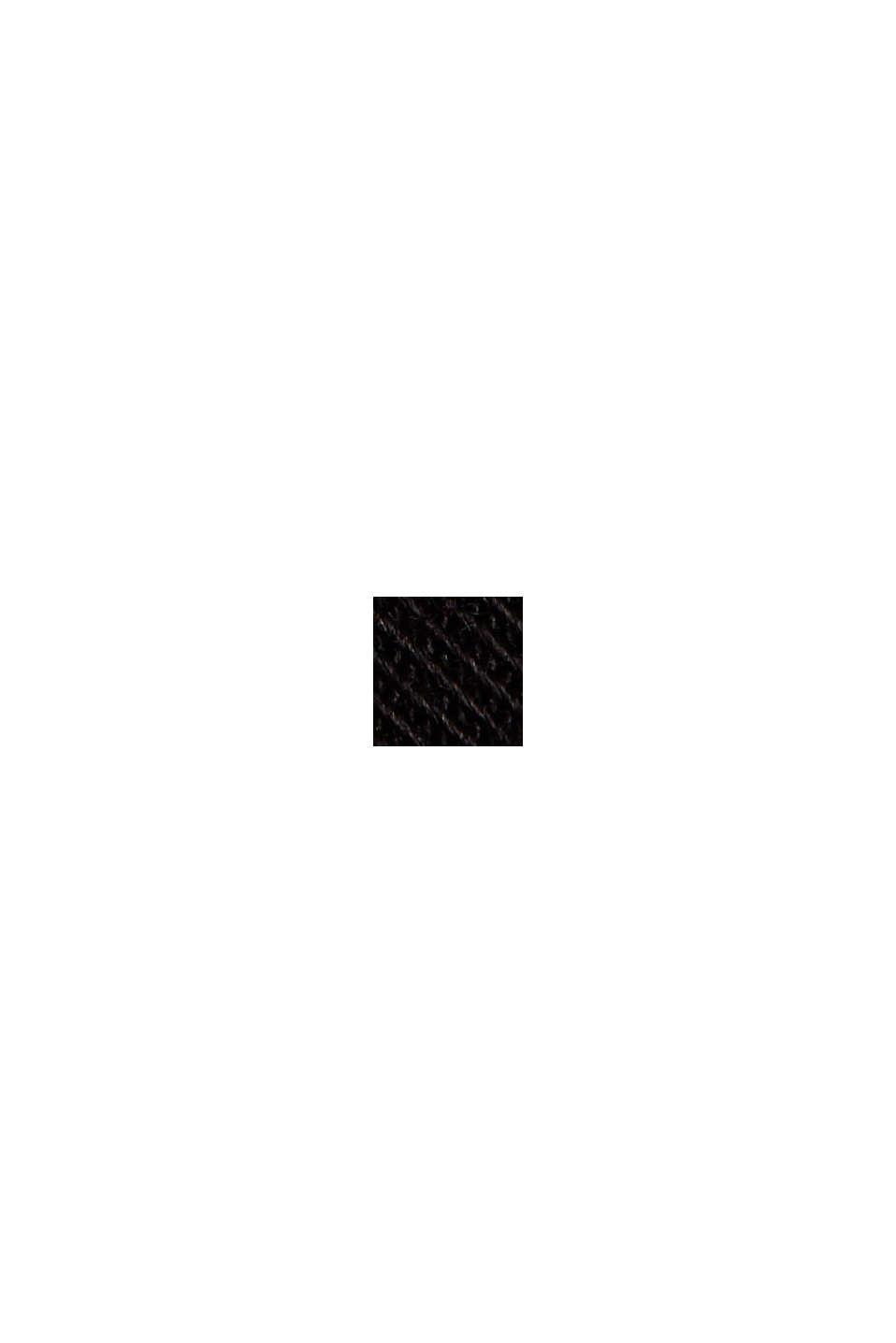 Spodnie z bawełny ekologicznej z Lycra xtra life™, BLACK, swatch