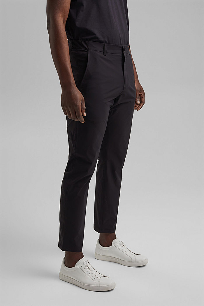 Business trousers/Suit trousers, BLACK, detail image number 0