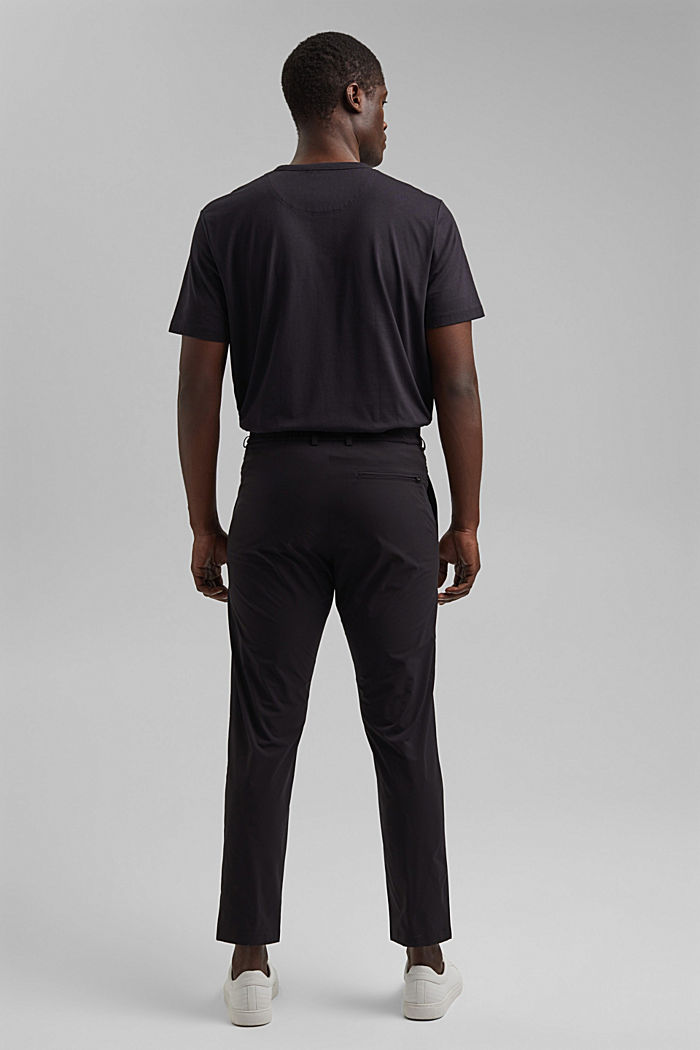 Business trousers/Suit trousers, BLACK, detail image number 1