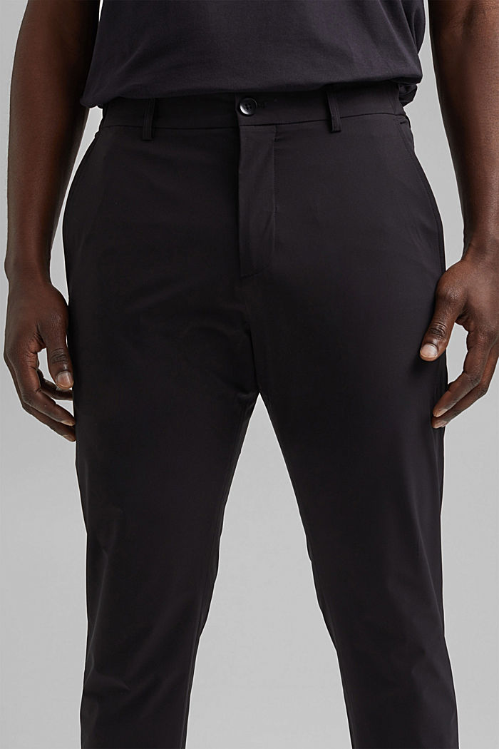 Business trousers/Suit trousers, BLACK, detail image number 3