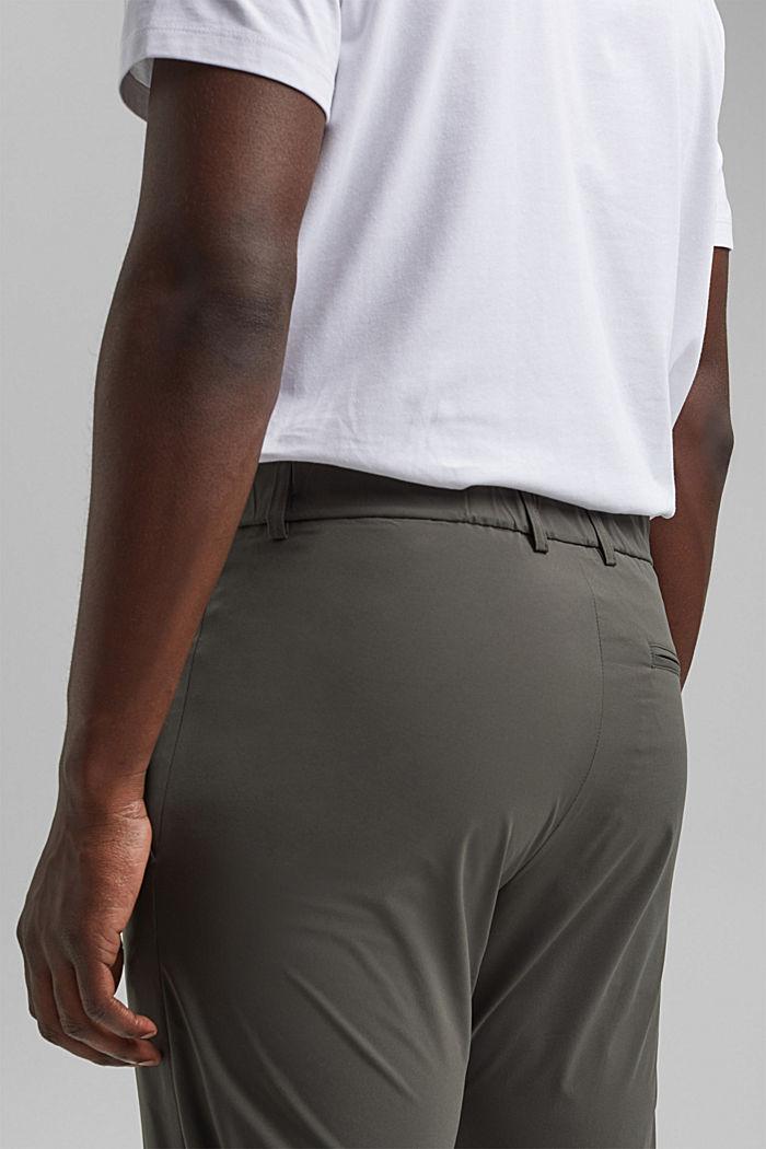 #ReimagineFlexibility: oddychające spodnie, DARK KHAKI, detail image number 7