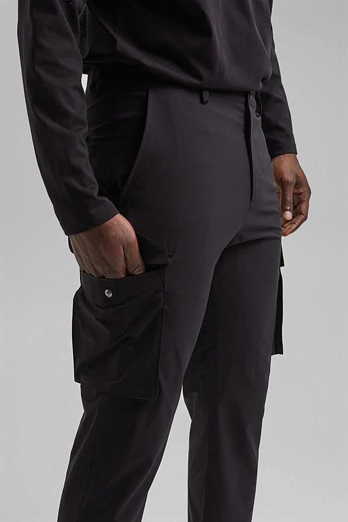 #ReimagineFlexibility: breathable trousers, BLACK, detail image number 3