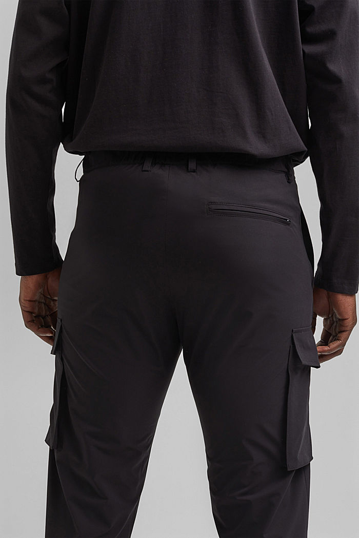 #ReimagineFlexibility: breathable trousers, BLACK, detail image number 6