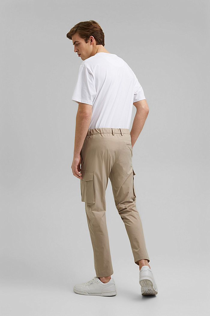#ReimagineFlexibility: breathable trousers, BEIGE, detail image number 1
