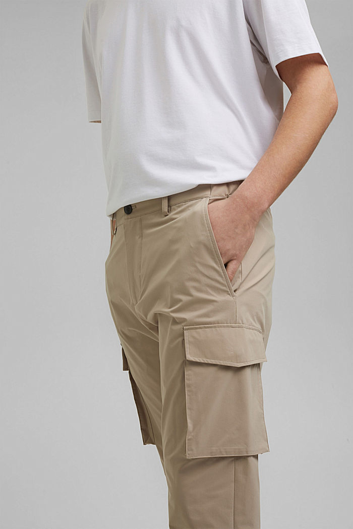 #ReimagineFlexibility: breathable trousers, BEIGE, detail image number 3