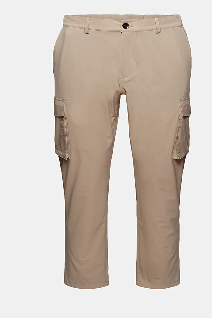 #ReimagineFlexibility: breathable trousers, BEIGE, detail image number 7