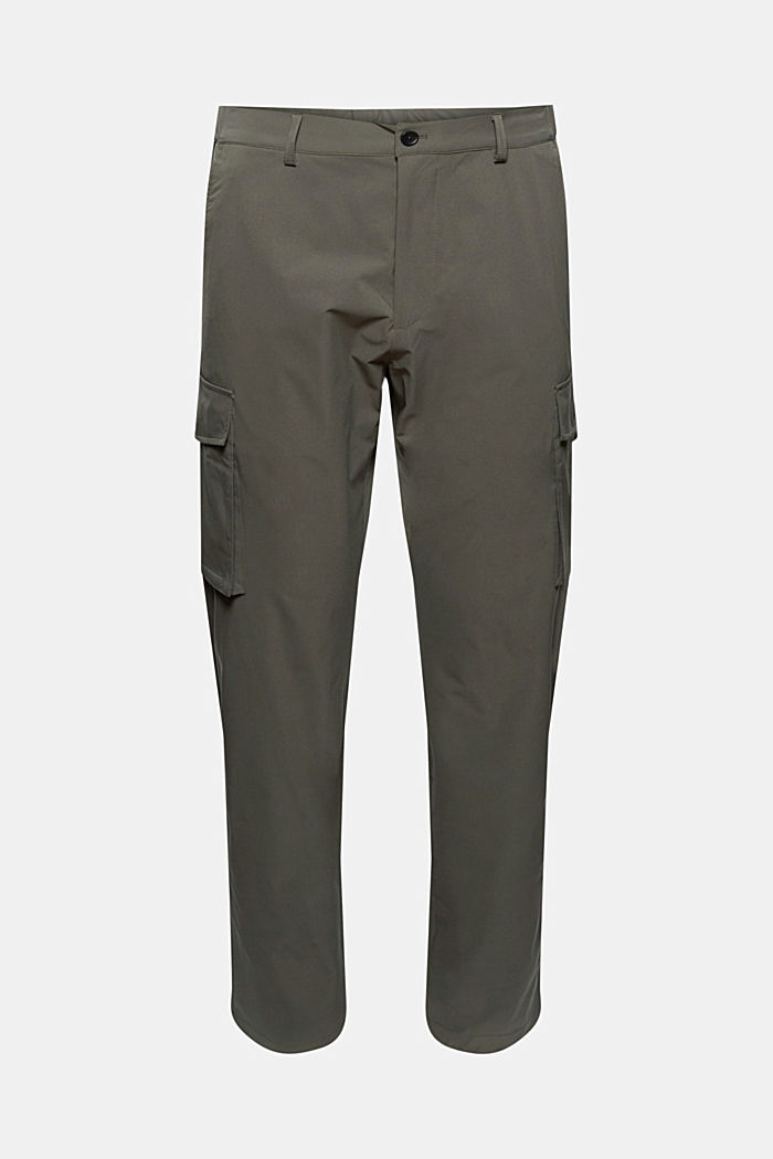 #ReimagineFlexibility: breathable trousers, DARK KHAKI, detail image number 7