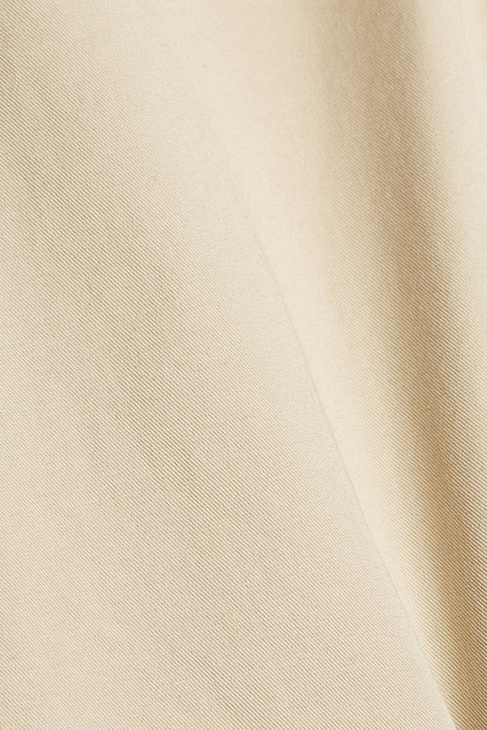 Ankle-length tracksuit bottoms in organic cotton, BEIGE, detail image number 4