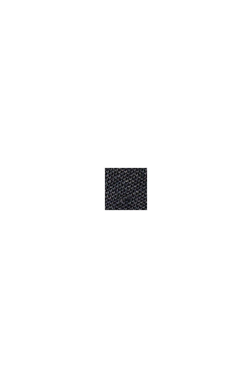 Premiumoverhemd van 100% hennep, BLACK, swatch