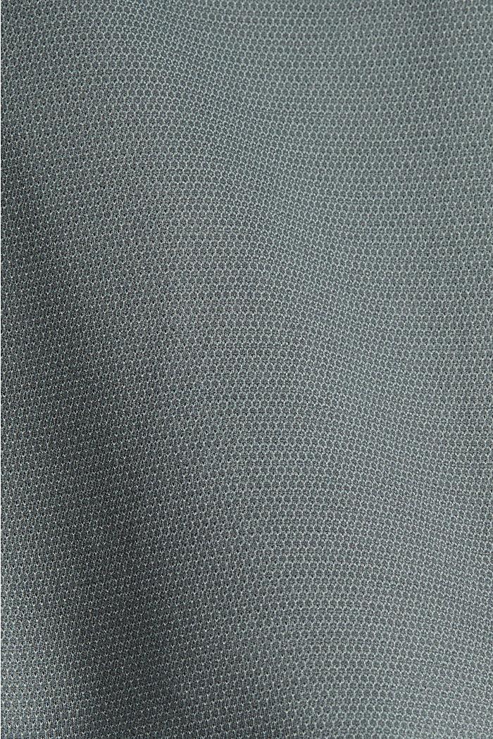Jersey colbert met structuur, DUSTY GREEN, detail image number 4