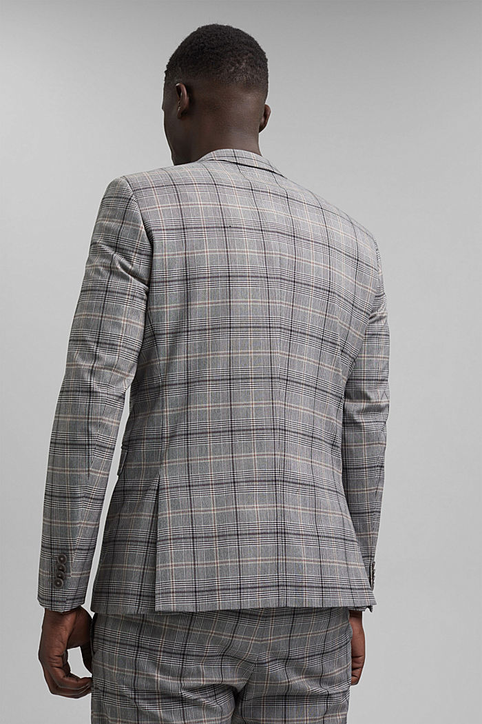 Check mix + match jacket with COOLMAX®, GREY, detail image number 3