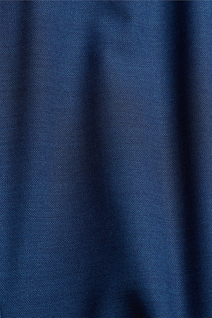 ECOMADE mix + match jacket with COOLMAX®, BLUE, detail image number 4
