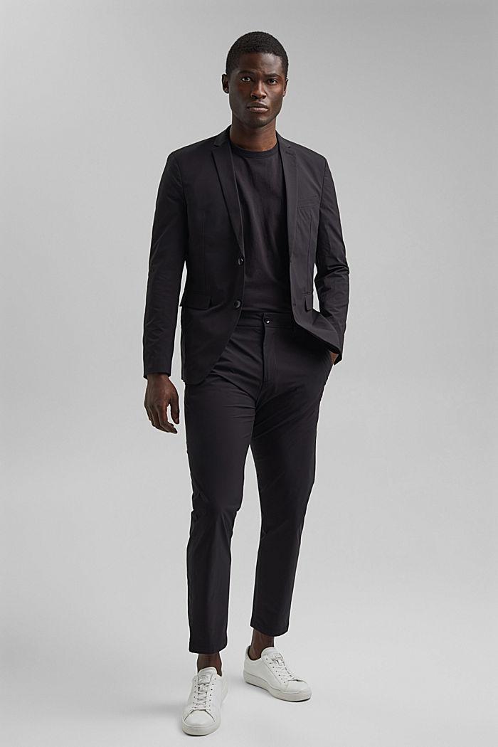 #ReimagineFlexibility: blazer con componente bielástico, BLACK, detail image number 7
