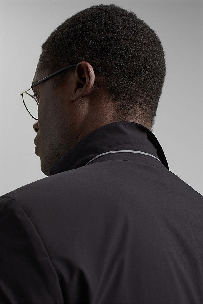 #ReimagineFlexibility: blazer con componente bielástico, BLACK, detail image number 5