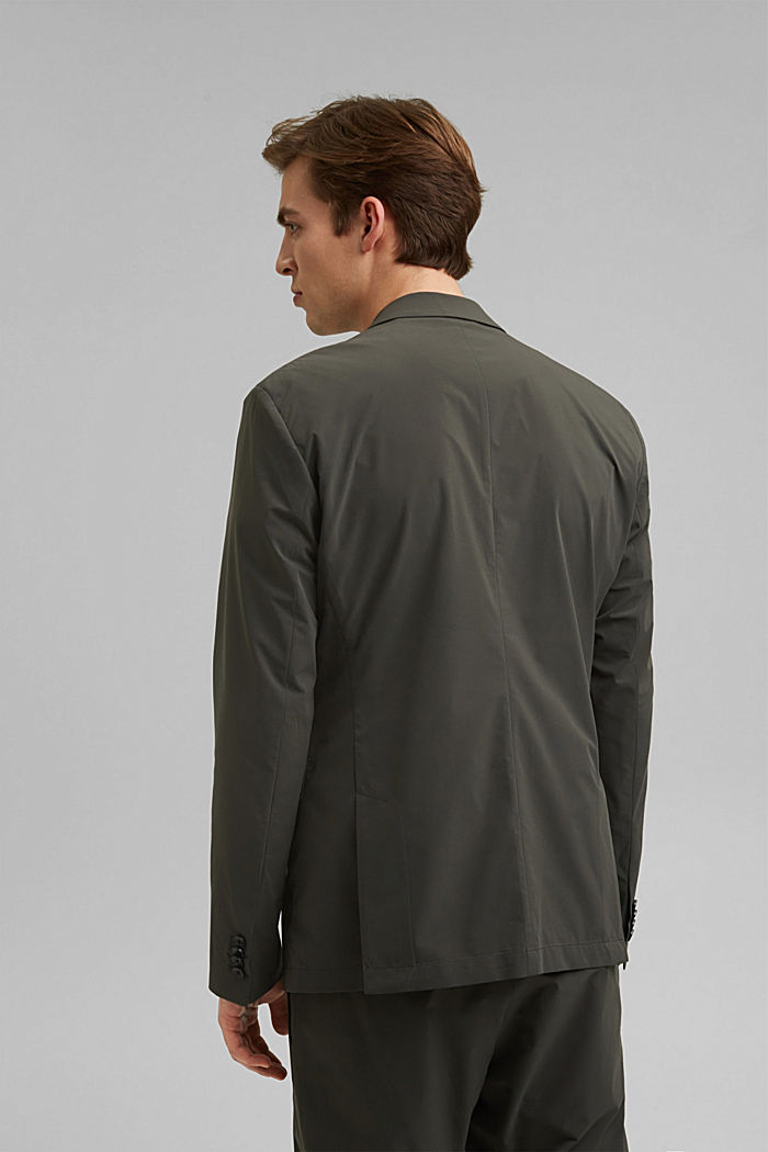#ReimagineFlexibility: blazer med bi-stretch, DARK KHAKI, detail image number 3