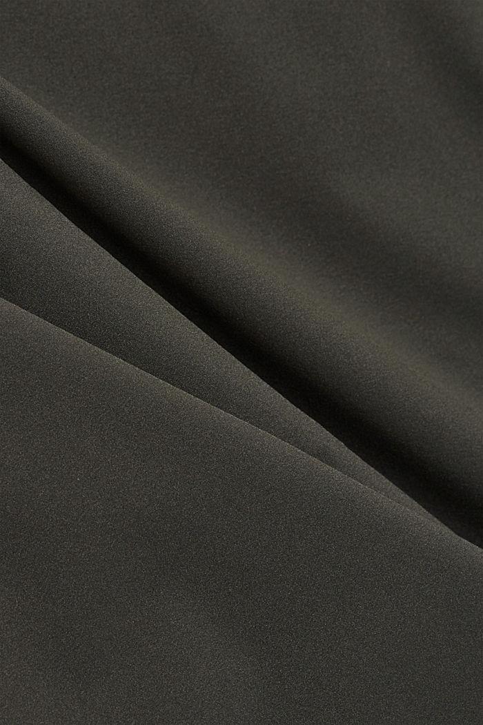 #ReimagineFlexibility: bi-stretch blazer, DARK KHAKI, detail image number 5