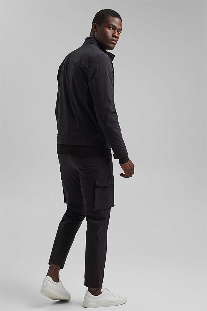 #ReimagineFlexibility: breathable jacket, BLACK, detail image number 3