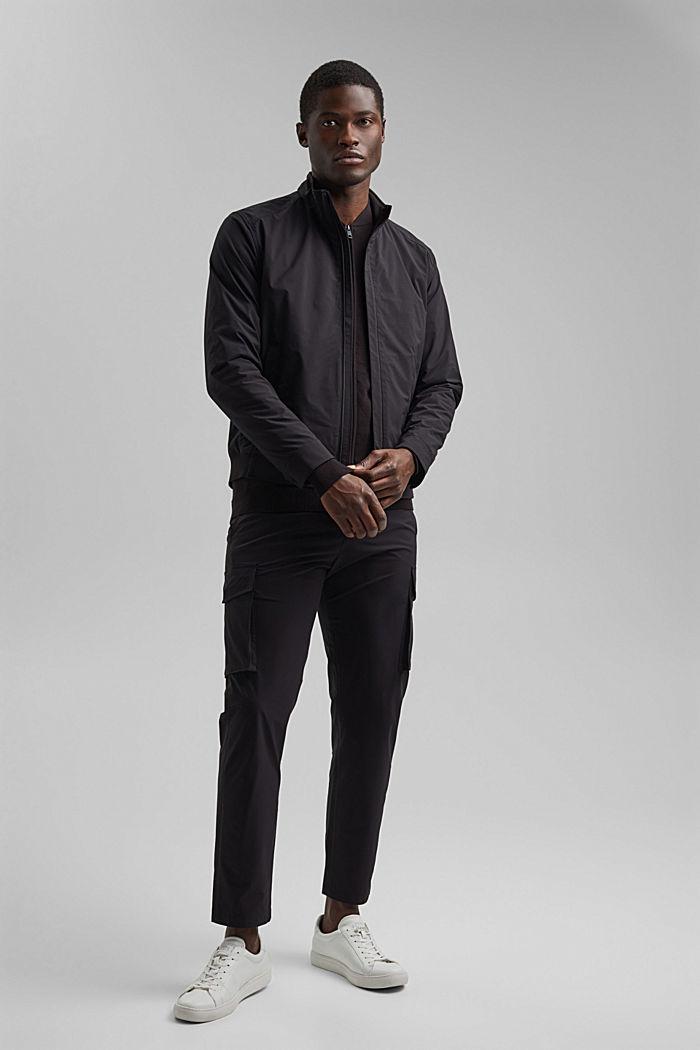 #ReimagineFlexibility: breathable jacket, BLACK, detail image number 4