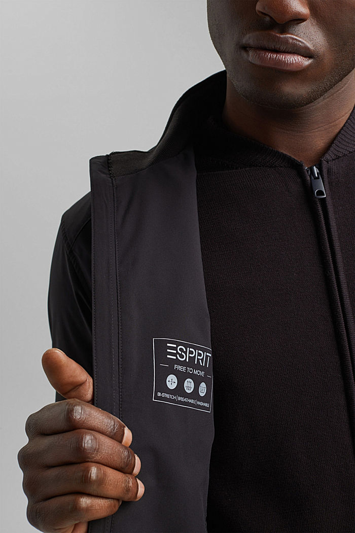 #ReimagineFlexibility: breathable jacket, BLACK, detail image number 6