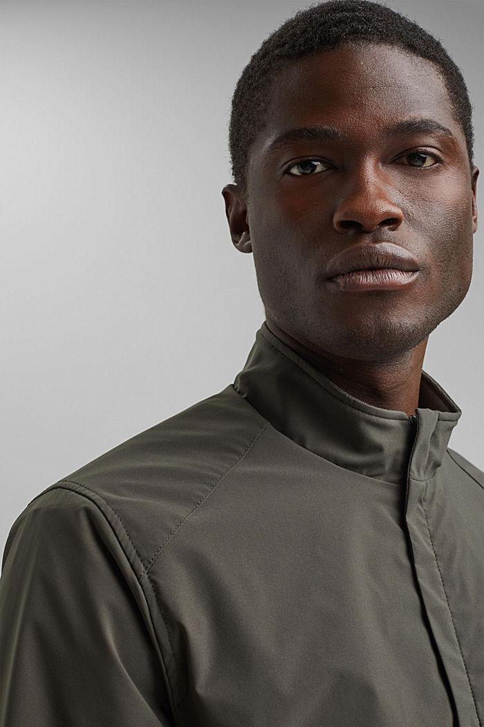 #ReimagineFlexibility: breathable jacket, DARK KHAKI, detail image number 6
