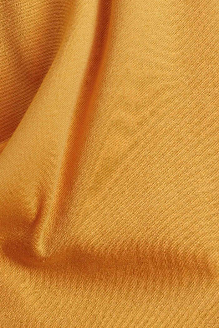 On the move: jersey polo shirt, 100% organic cotton, SUNFLOWER YELLOW, detail image number 4