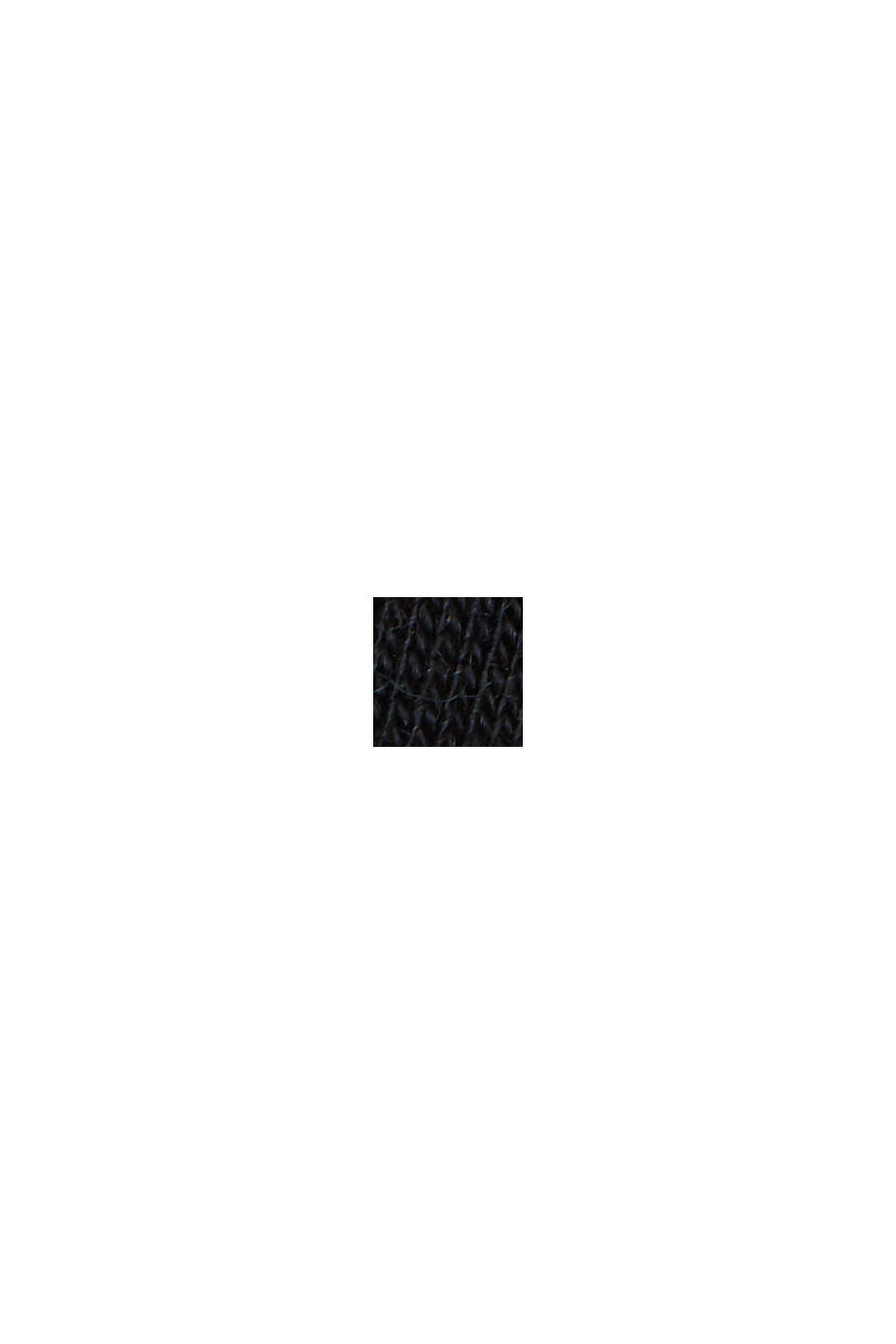 Koszulka z dżerseju wyprodukowanego z lyocellu (TENCELU™) i wełny, BLACK, swatch