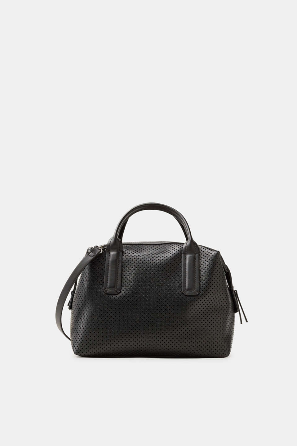 edc - City bag in perforated faux leather