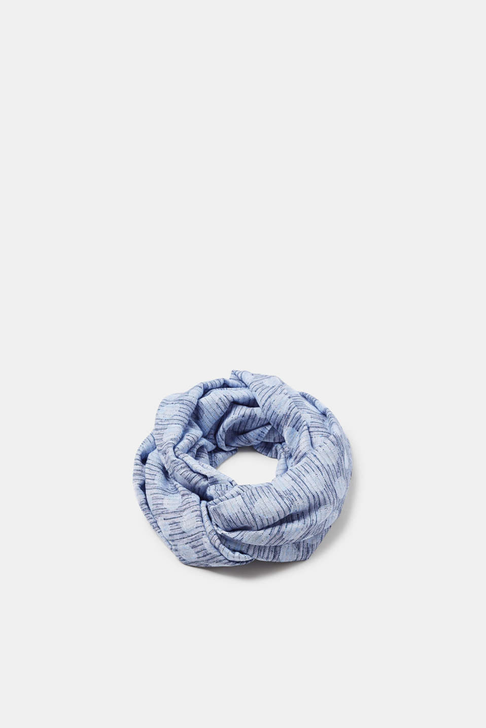 edc - Jacquard snood with a pattern