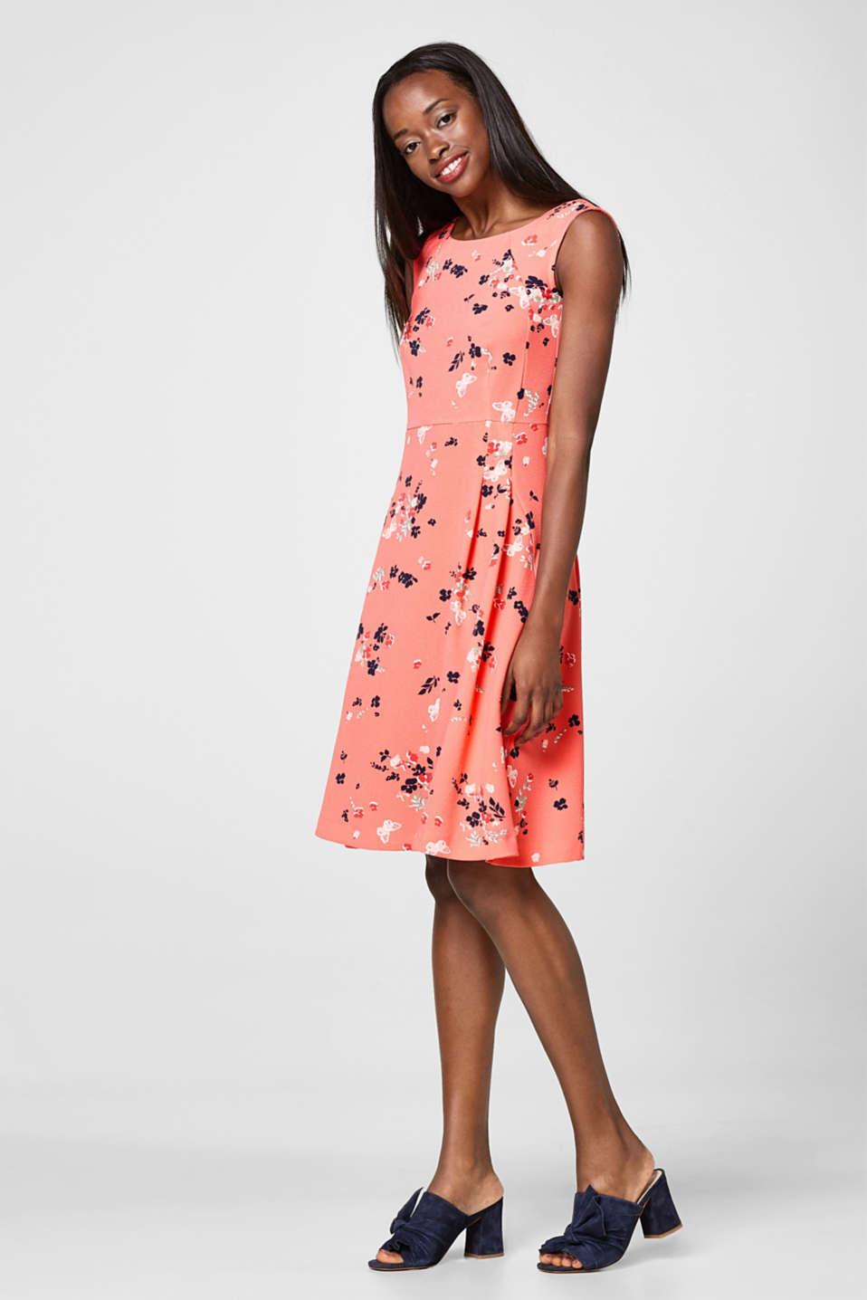 Esprit kleid 3d blumen