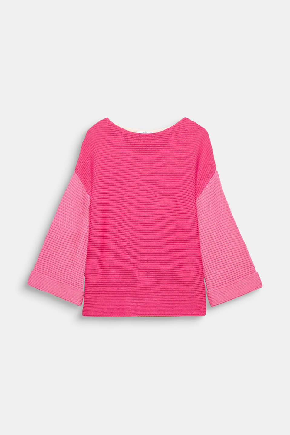 Already in love: this somewhat chunky knit, cotton blend jumper in bold colour blocking is a fave!