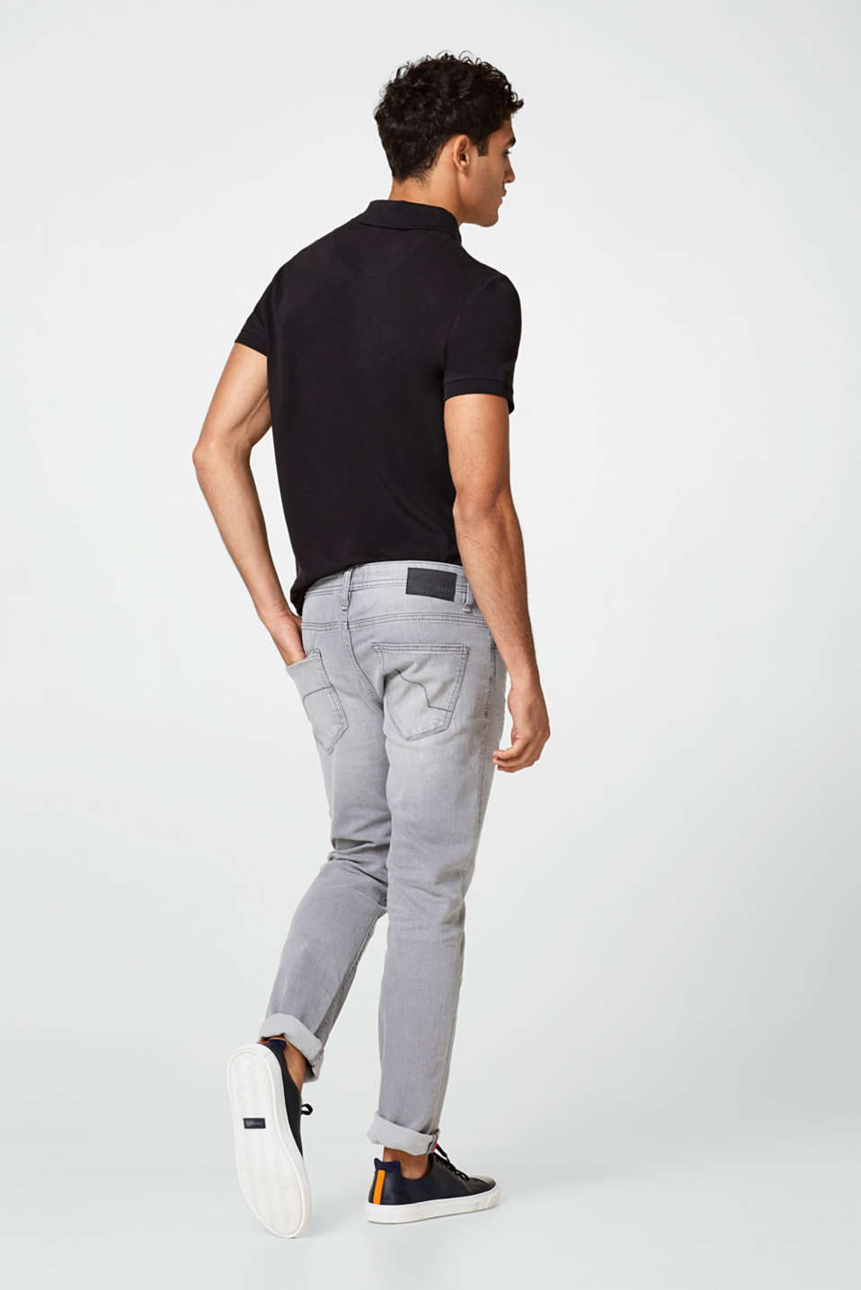 Stretch-Jeans in Trendfarben