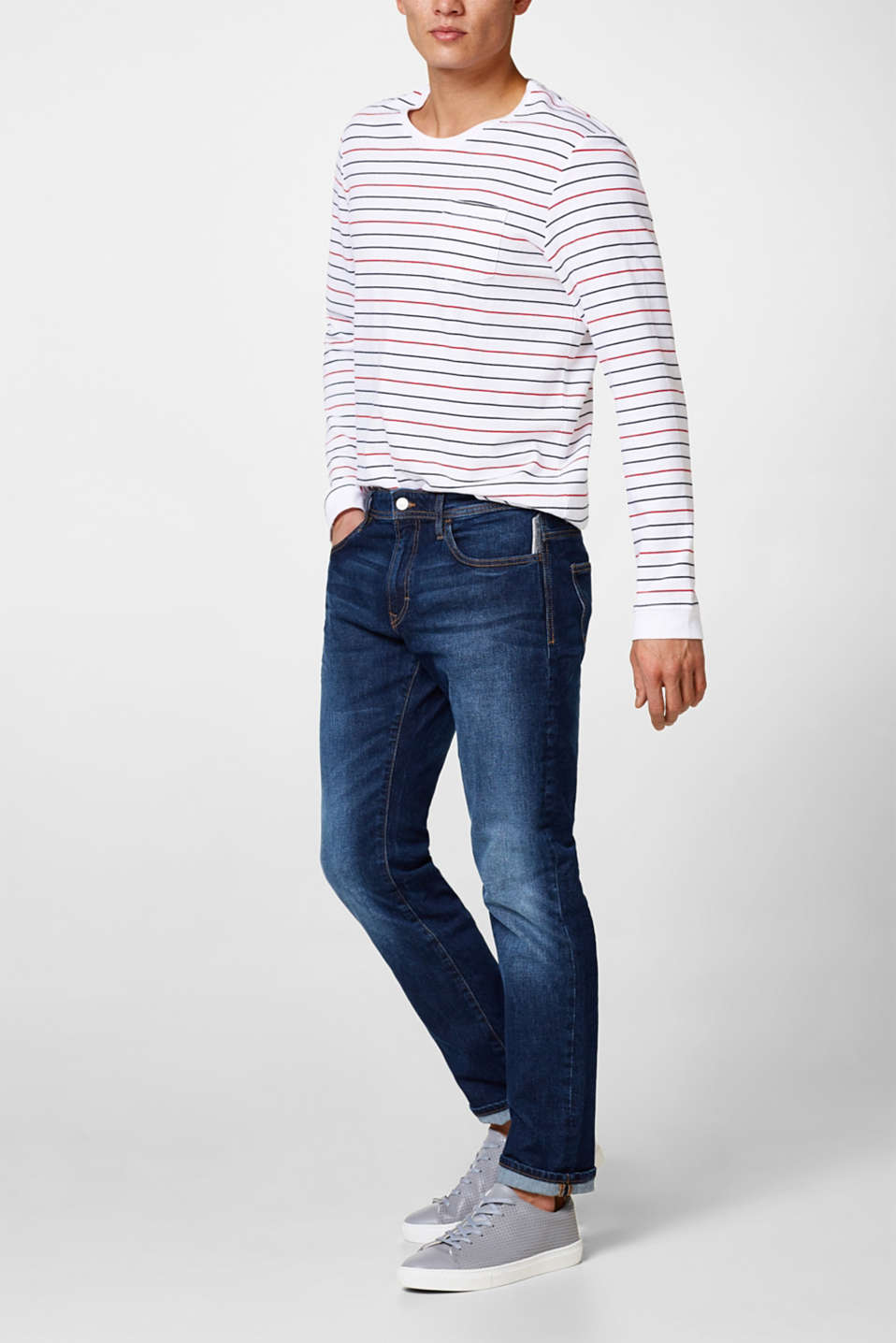 edc - Stretch-Jeans in Trendfarben