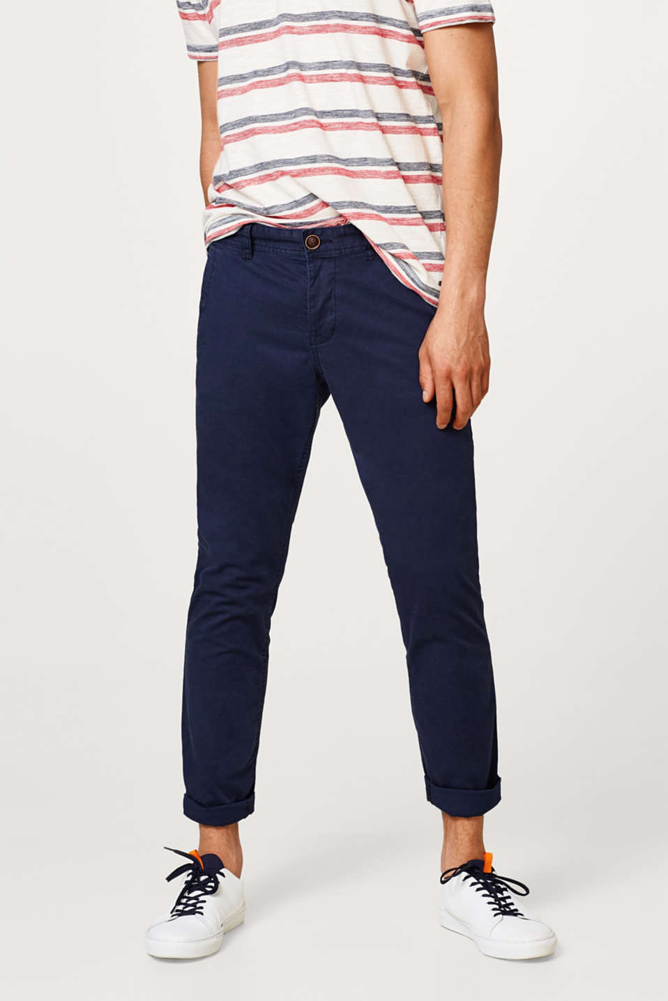 edc - Chino en coton au confort stretch