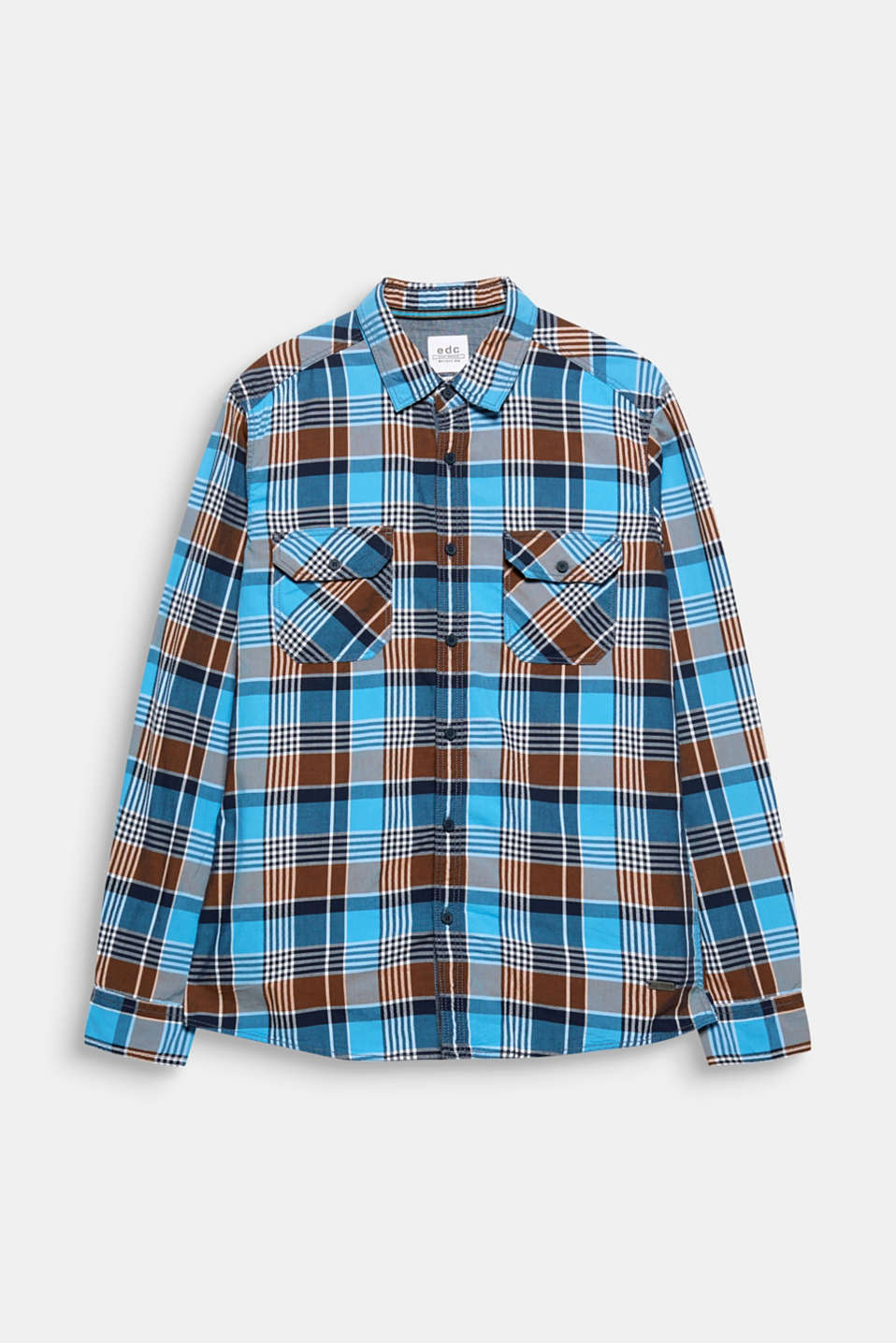 The distinctive check pattern gives this shirt a stylish country look.